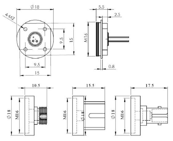 InGaAs PIN Photodiode for Optical Power Meter, oeMarket com